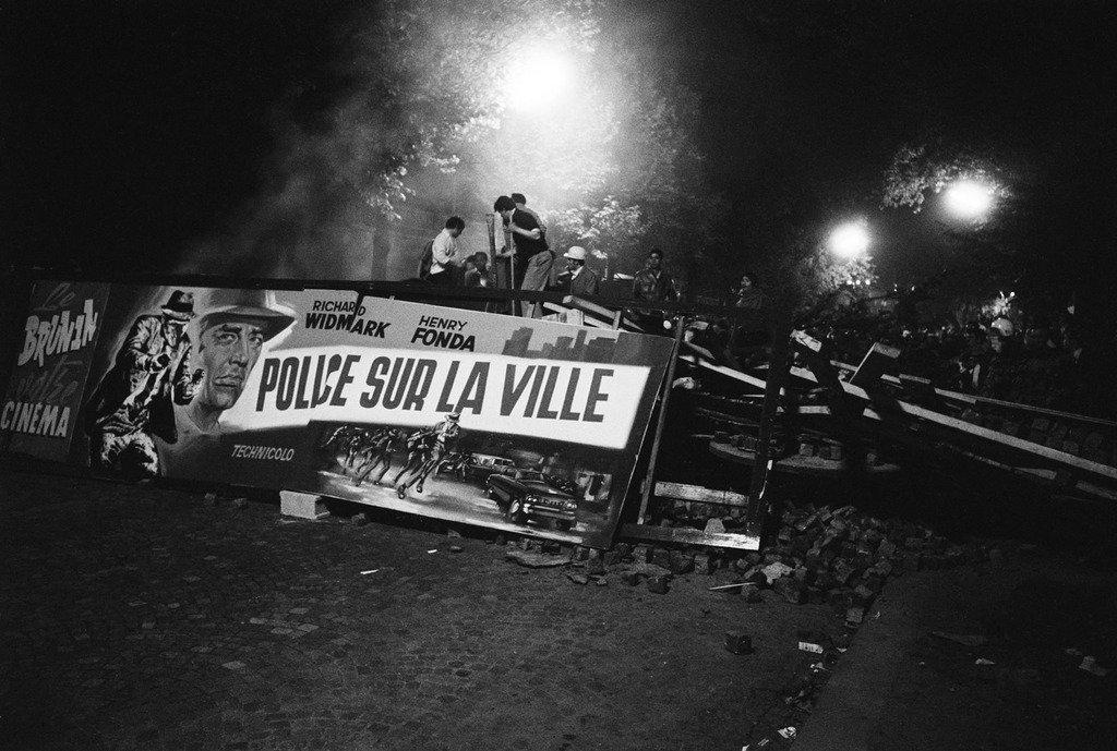 Беспорядки в Париже в 1968-м